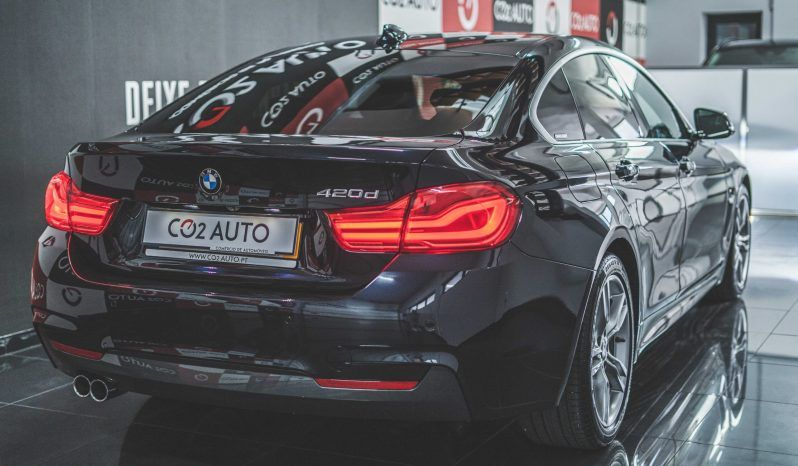 BMW 420 D GRAND COUPE PACK M completo